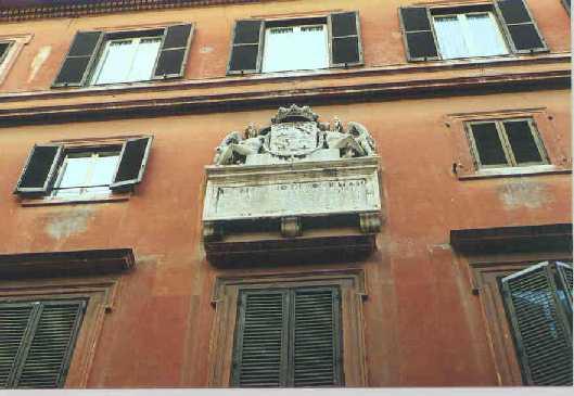 La guida per visitare via giulia for Palazzo in stile spagnolo